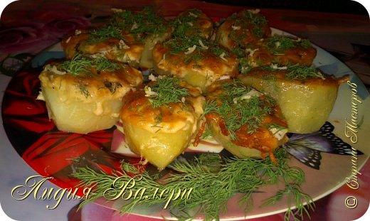 Кулинария Мастер-класс Рецепт кулинарный Картошечка фаршированная грибами +МК Продукты пищевые фото 4