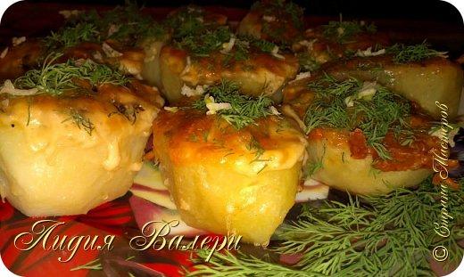 Кулинария Мастер-класс Рецепт кулинарный Картошечка фаршированная грибами +МК Продукты пищевые фото 28