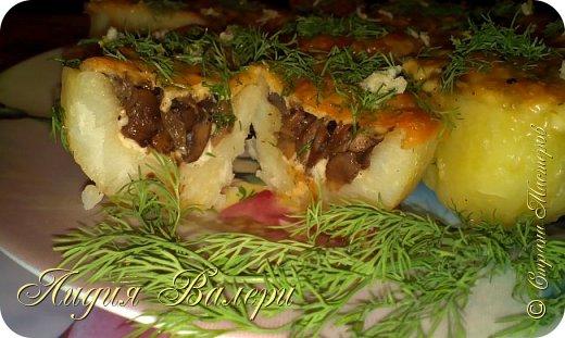 Кулинария Мастер-класс Рецепт кулинарный Картошечка фаршированная грибами +МК Продукты пищевые фото 30