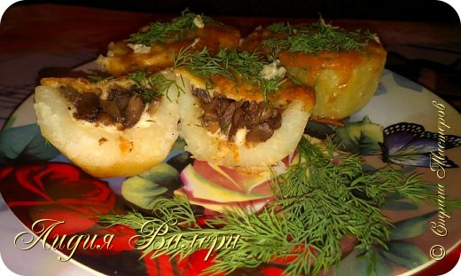 Кулинария Мастер-класс Рецепт кулинарный Картошечка фаршированная грибами +МК Продукты пищевые фото 3