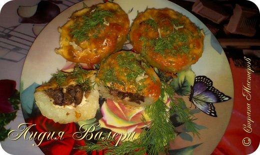 Кулинария Мастер-класс Рецепт кулинарный Картошечка фаршированная грибами +МК Продукты пищевые фото 31