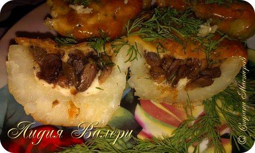 Кулинария Мастер-класс Рецепт кулинарный Картошечка фаршированная грибами +МК Продукты пищевые фото 2
