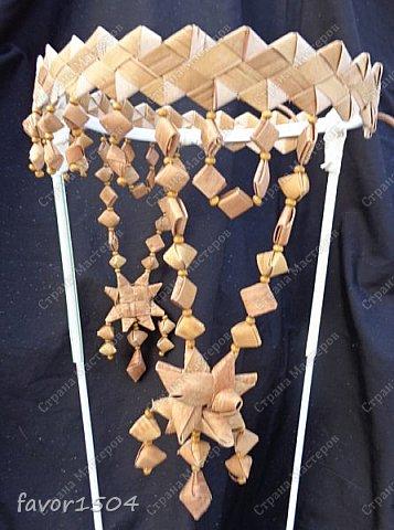 """После Нового года пришлось создать несколько очелий из бересты.... Очелье """"Звезды"""" создано по мотивам одного из предыдущих вариантов.... фото 4"""