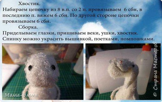 Мастер-класс Вязание крючком Овечки вязаные Нитки фото 8