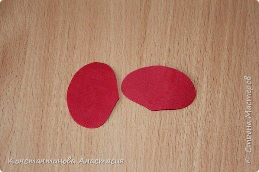 Привет Страна! Предлагаю вашему вниманию очень простой МК по изготовлению мака из четырех лепестков. фото 4