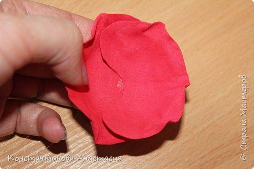 Привет Страна! Предлагаю вашему вниманию очень простой МК по изготовлению мака из четырех лепестков. фото 29