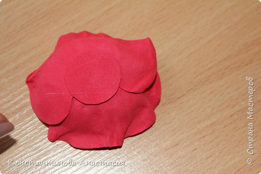 Привет Страна! Предлагаю вашему вниманию очень простой МК по изготовлению мака из четырех лепестков. фото 30