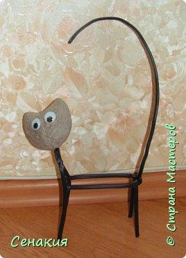 Мастер-класс Папье-маше Лемурный кот Бумага Клей Краска фото 2