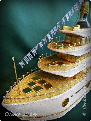 Доброго времечка, дорогие рукодельницы!!! В предыдущем блоге показала Вам свою флотилию, ну а сейчас хочу поведать Вам, как делала я яхту. Вдохновением моим явилась Юлия Махова  http://mamayulia.gallery.ru/watch?a=SFa-lFJ3   http://mamayulia.gallery.ru/watch?a=SFa-lRJl фото 3