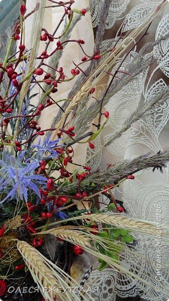 Здравствуй страна. Начинаю облагораживать веранду в бане,вот такая композиция будет стоять на трюмо,которое сейчас еще декорирую. ХОЧУ ВЕСНУ..... фото 9
