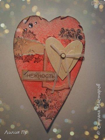 Полным ходом идет у меня подготовка работ к дню влюбленных))  Вдохновилась на эти сердечки я мк Алены Рябцовой из инета. В жизни смотрятся интереснее и лучше;)) фото 4