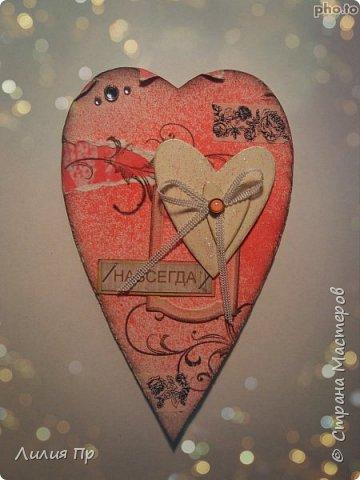 Полным ходом идет у меня подготовка работ к дню влюбленных))  Вдохновилась на эти сердечки я мк Алены Рябцовой из инета. В жизни смотрятся интереснее и лучше;)) фото 10