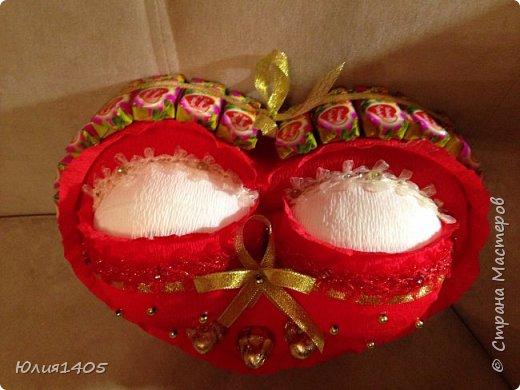 Здравствуйте друзья, вот такое сердце решила подарить любимому мужу:))) фото 2