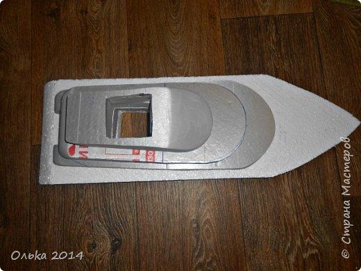 Доброго времечка, дорогие рукодельницы!!! В предыдущем блоге показала Вам свою флотилию, ну а сейчас хочу поведать Вам, как делала я яхту. Вдохновением моим явилась Юлия Махова  http://mamayulia.gallery.ru/watch?a=SFa-lFJ3   http://mamayulia.gallery.ru/watch?a=SFa-lRJl фото 26