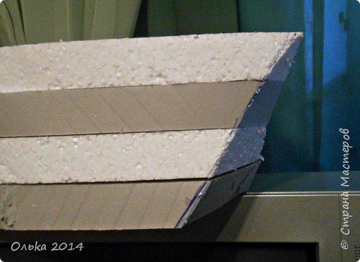 Доброго времечка, дорогие рукодельницы!!! В предыдущем блоге показала Вам свою флотилию, ну а сейчас хочу поведать Вам, как делала я яхту. Вдохновением моим явилась Юлия Махова  http://mamayulia.gallery.ru/watch?a=SFa-lFJ3   http://mamayulia.gallery.ru/watch?a=SFa-lRJl фото 32