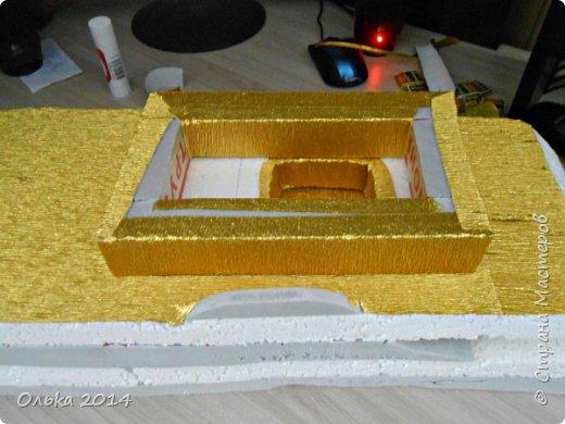 Доброго времечка, дорогие рукодельницы!!! В предыдущем блоге показала Вам свою флотилию, ну а сейчас хочу поведать Вам, как делала я яхту. Вдохновением моим явилась Юлия Махова  http://mamayulia.gallery.ru/watch?a=SFa-lFJ3   http://mamayulia.gallery.ru/watch?a=SFa-lRJl фото 43