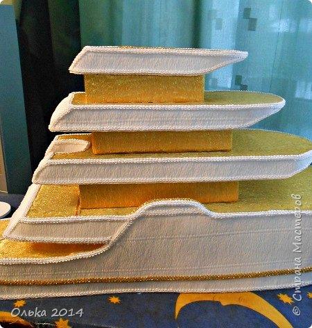 Доброго времечка, дорогие рукодельницы!!! В предыдущем блоге показала Вам свою флотилию, ну а сейчас хочу поведать Вам, как делала я яхту. Вдохновением моим явилась Юлия Махова  http://mamayulia.gallery.ru/watch?a=SFa-lFJ3   http://mamayulia.gallery.ru/watch?a=SFa-lRJl фото 49