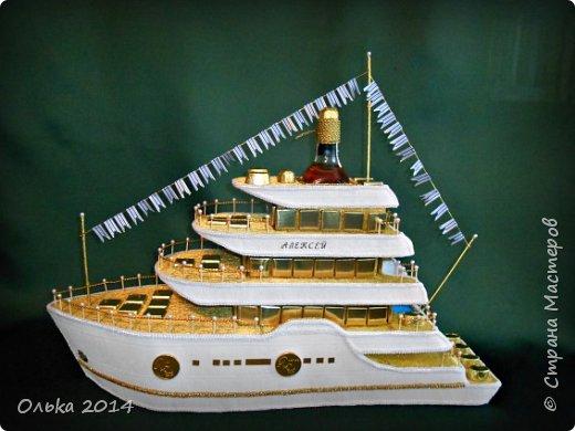 Доброго времечка, дорогие рукодельницы!!! В предыдущем блоге показала Вам свою флотилию, ну а сейчас хочу поведать Вам, как делала я яхту. Вдохновением моим явилась Юлия Махова  http://mamayulia.gallery.ru/watch?a=SFa-lFJ3   http://mamayulia.gallery.ru/watch?a=SFa-lRJl фото 56