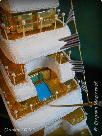 Доброго времечка, дорогие рукодельницы!!! В предыдущем блоге показала Вам свою флотилию, ну а сейчас хочу поведать Вам, как делала я яхту. Вдохновением моим явилась Юлия Махова  http://mamayulia.gallery.ru/watch?a=SFa-lFJ3   http://mamayulia.gallery.ru/watch?a=SFa-lRJl фото 55