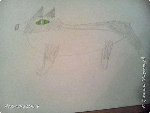 Кот из котов воителей Звездоцап. Все рисунки нарисованы карандашами и фломастерами. фото 2