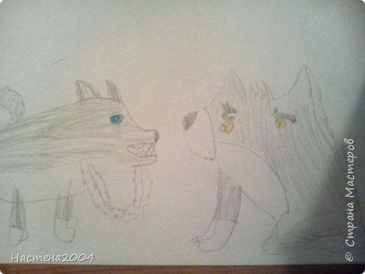 Кот из котов воителей Звездоцап. Все рисунки нарисованы карандашами и фломастерами. фото 5