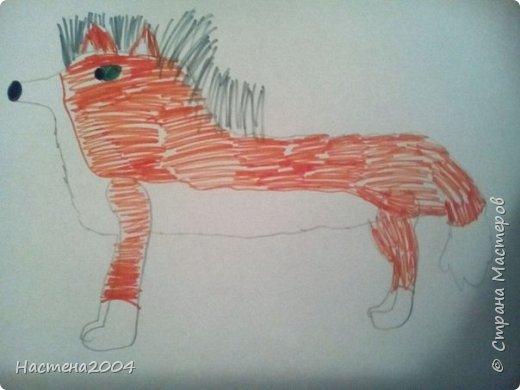 Кот из котов воителей Звездоцап. Все рисунки нарисованы карандашами и фломастерами. фото 7