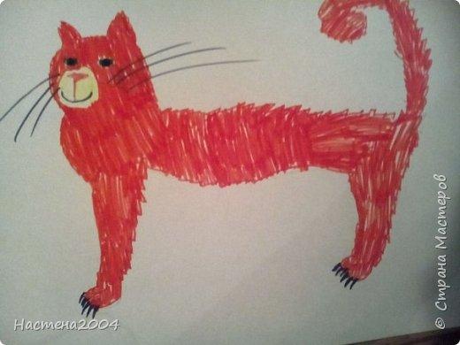 Кот из котов воителей Звездоцап. Все рисунки нарисованы карандашами и фломастерами. фото 8