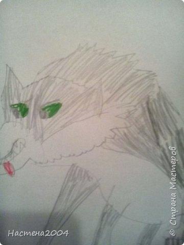 Кот из котов воителей Звездоцап. Все рисунки нарисованы карандашами и фломастерами. фото 9
