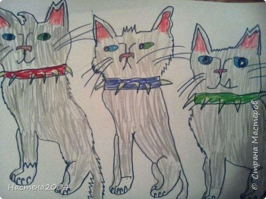 Кот из котов воителей Звездоцап. Все рисунки нарисованы карандашами и фломастерами. фото 10