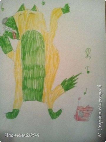 Кот из котов воителей Звездоцап. Все рисунки нарисованы карандашами и фломастерами. фото 12