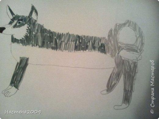 Кот из котов воителей Звездоцап. Все рисунки нарисованы карандашами и фломастерами. фото 14