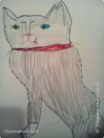 Кот из котов воителей Звездоцап. Все рисунки нарисованы карандашами и фломастерами. фото 20