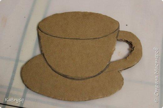 Доброго времени суток всем! Хочу показать, как я делала свои чашечки-магнитики, надеюсь, кому-нибудь это пригодится.  фото 4