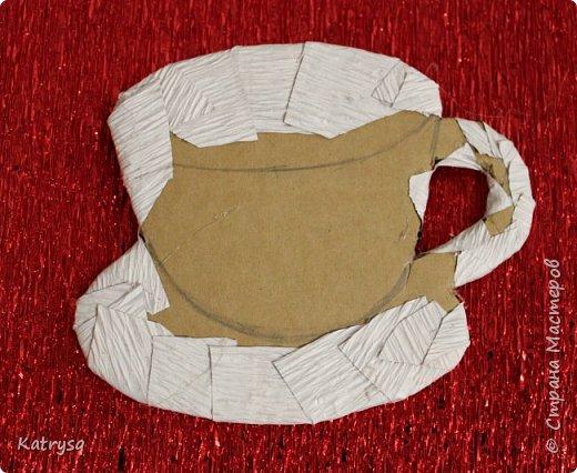 Доброго времени суток всем! Хочу показать, как я делала свои чашечки-магнитики, надеюсь, кому-нибудь это пригодится.  фото 7