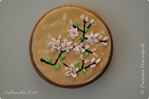 Видео Кулинария Мастер-класс Роспись Сахарные цветочки для пряников Продукты пищевые фото 3