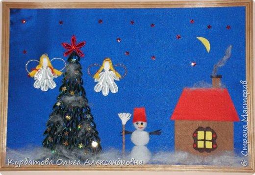 Работа выполнена учащимися 4 класса для оформления школы к празднику Рождества Христова