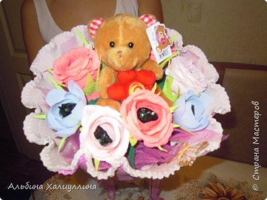 Этот яркий букетик для маленькой принцессы Лизы!!! фото 4