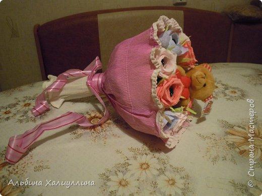 Этот яркий букетик для маленькой принцессы Лизы!!! фото 5