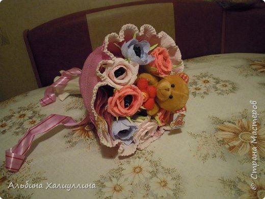 Этот яркий букетик для маленькой принцессы Лизы!!! фото 6