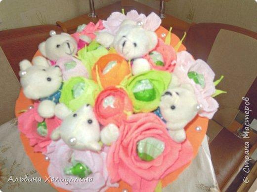 Этот яркий букетик для маленькой принцессы Лизы!!! фото 3