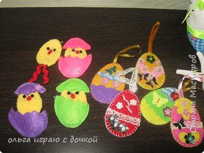 магнитик пасхальный, или игра найди цыпленку свой домик ( закрепляем учим цвета) для детей фото 4