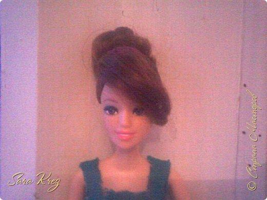 Всем приветики.Сегодня решила вам показать находку из интернета.Нашла как сделать кукле причёску с чёлкой,может кто-то её видел,но я вам её покажу!Это что-то типа Краткого мк. простите,но фото будут к сожалению не ахти фото 10