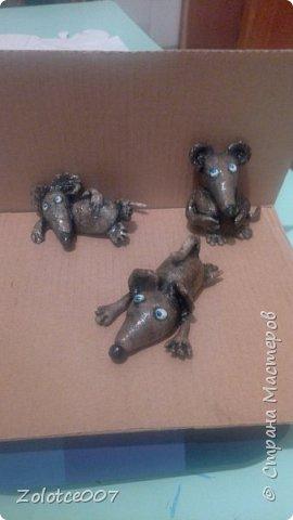 Мышки. Первые поделки. фото 3