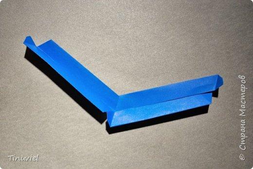 Сегодня я хочу поделиться тем, как я делала 6 пересекающихся пятиугольников, или Makalu (автор Robert J. Lang).  фото 13