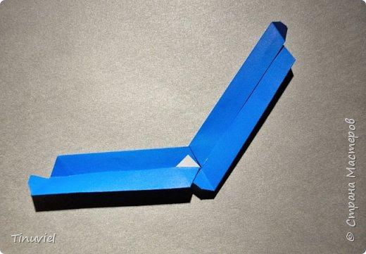 Сегодня я хочу поделиться тем, как я делала 6 пересекающихся пятиугольников, или Makalu (автор Robert J. Lang).  фото 14