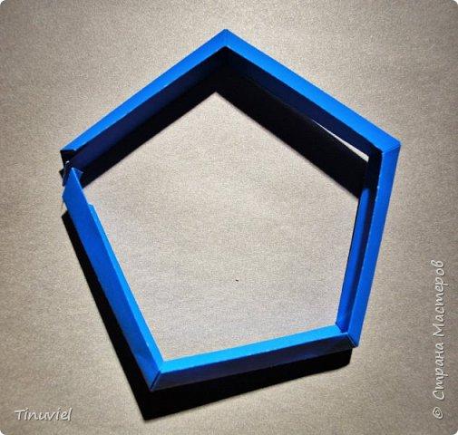 Сегодня я хочу поделиться тем, как я делала 6 пересекающихся пятиугольников, или Makalu (автор Robert J. Lang).  фото 15