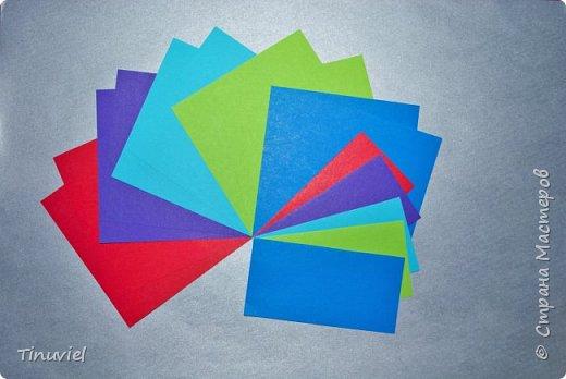 Сегодня я хочу поделиться тем, как я делала 6 пересекающихся пятиугольников, или Makalu (автор Robert J. Lang).  фото 2