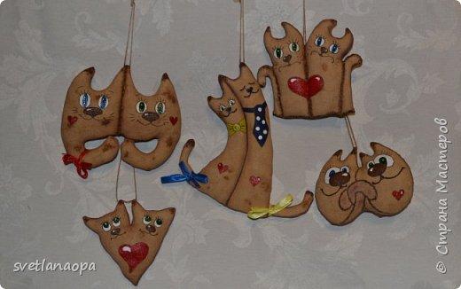 Всем рукодельницам ,привет!!!Готовлюсь к Дню Влюблённых, вот нашила ароматных игрушек, коты-неразлучники в разных вариантах.  фото 1
