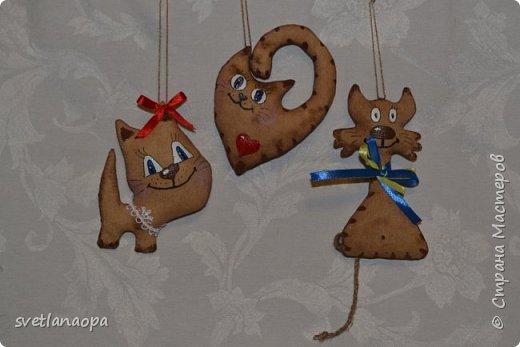 Всем рукодельницам ,привет!!!Готовлюсь к Дню Влюблённых, вот нашила ароматных игрушек, коты-неразлучники в разных вариантах.  фото 4