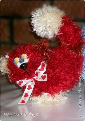 Всем привет!Вот такие сердечные коты связались в канун праздника, Дня св. Валентина)))Целый отряд получился...уж очень они популярные и милые))) фото 2